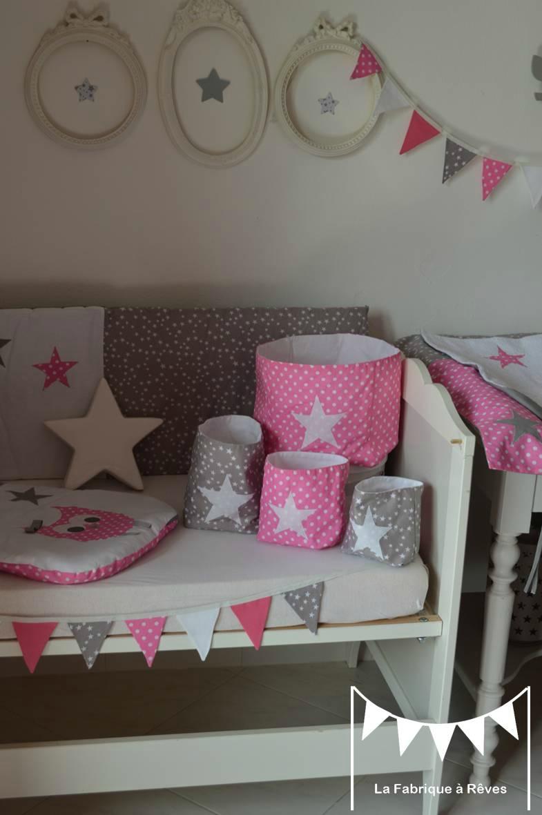 Chambre bébé vieux rose et gris - Idées de tricot gratuit