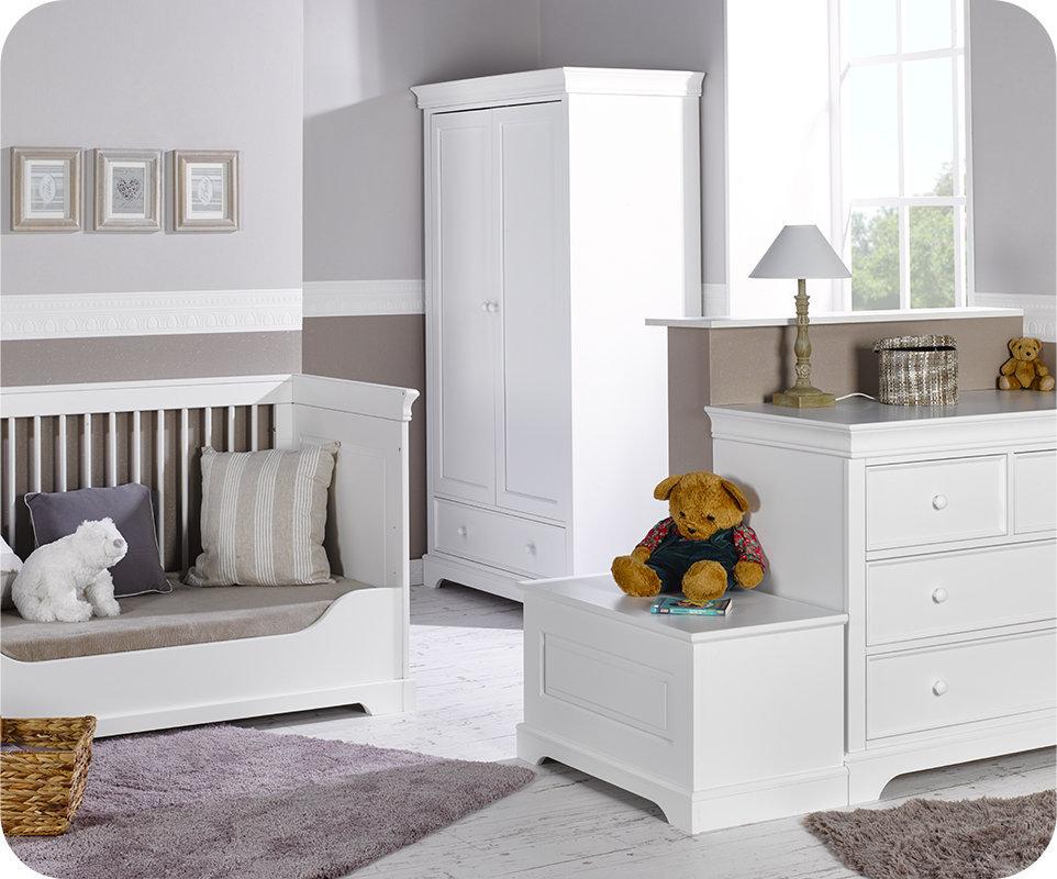 Chambre bebe blanche complete - Famille et bébé