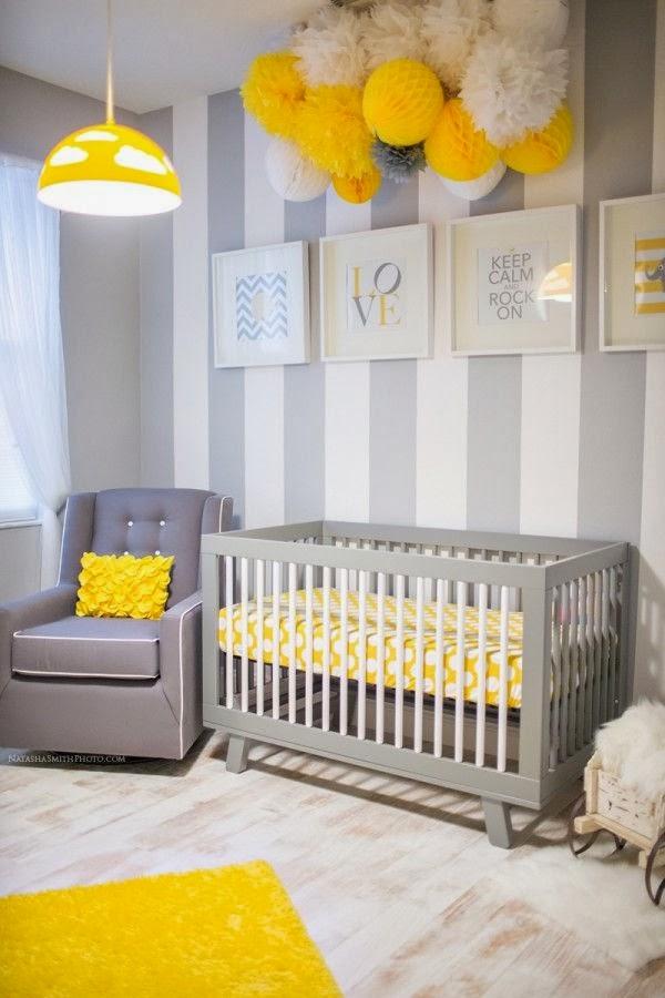 Deco chambre bebe garcon gris jaune - Idées de tricot gratuit