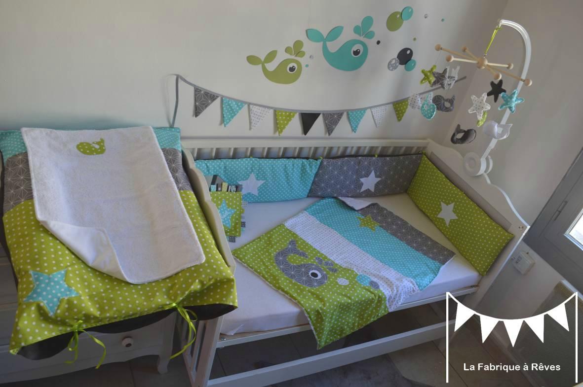 Theme chambre bebe vert - Modèle de tricot gratuit