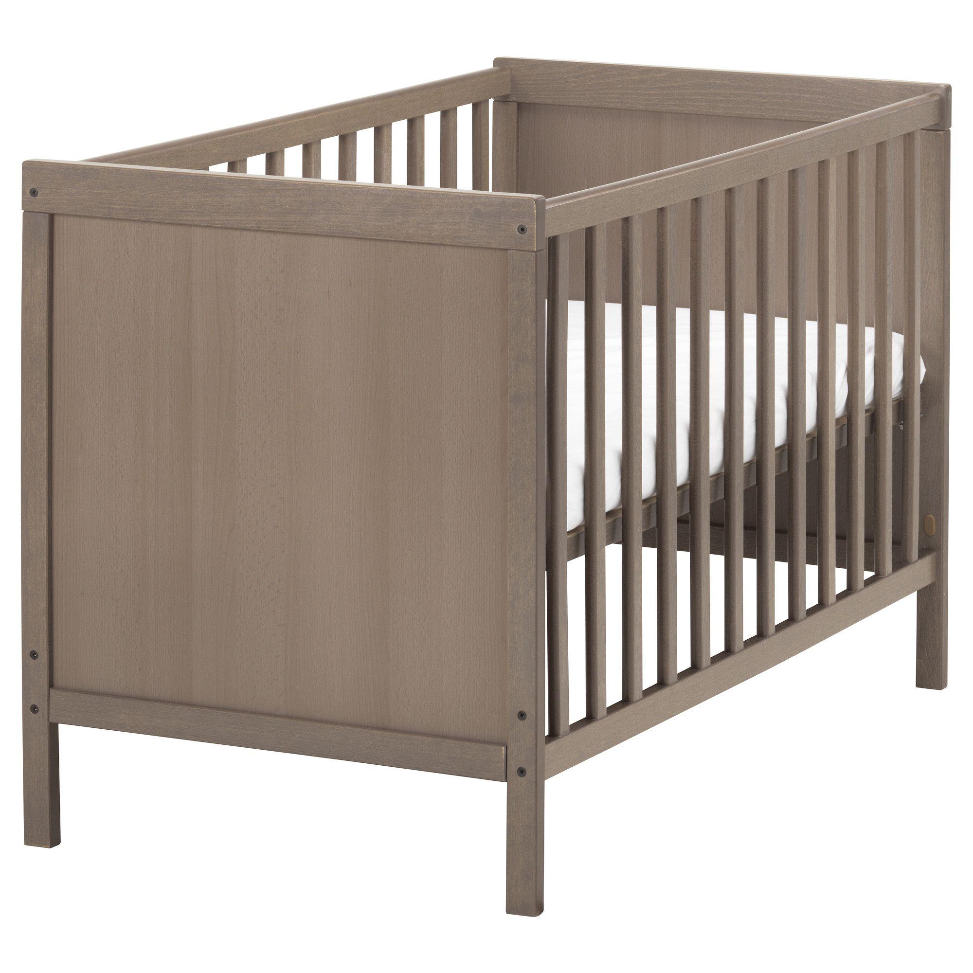 Chambre bébé gris brun