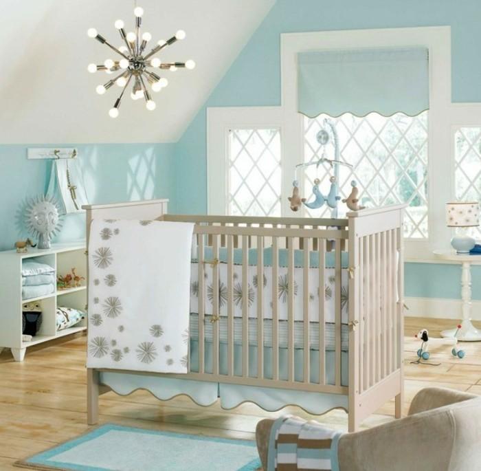 Chambre bebe blanc et bleu - Idées de tricot gratuit