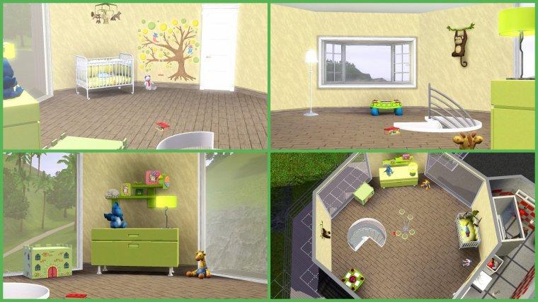 Sims 3 chambre bebe