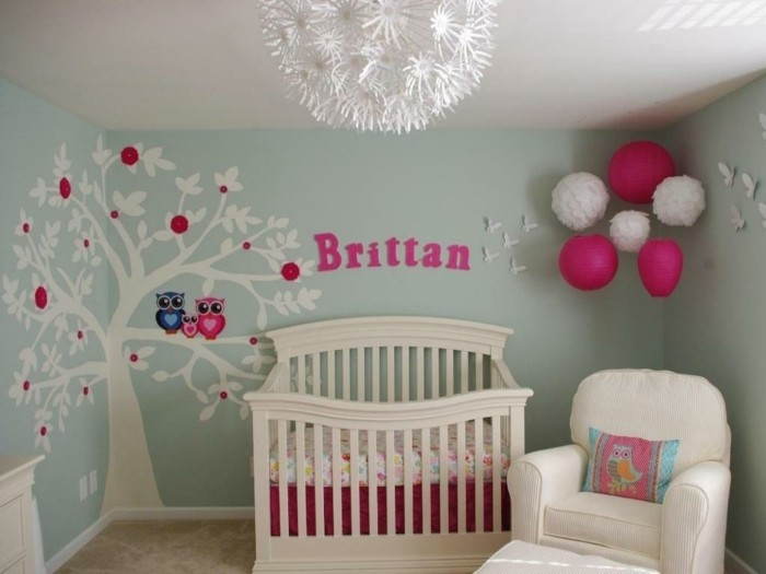 dcoration chambre bb fille image