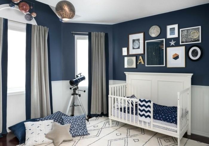 Chambre bébé garçon bleu ciel - Idées de tricot gratuit