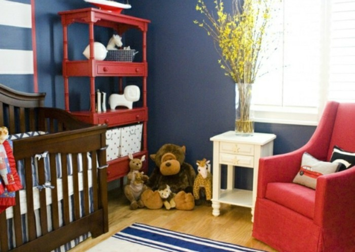 peinture chambre b b bleu nuit famille et b b. Black Bedroom Furniture Sets. Home Design Ideas