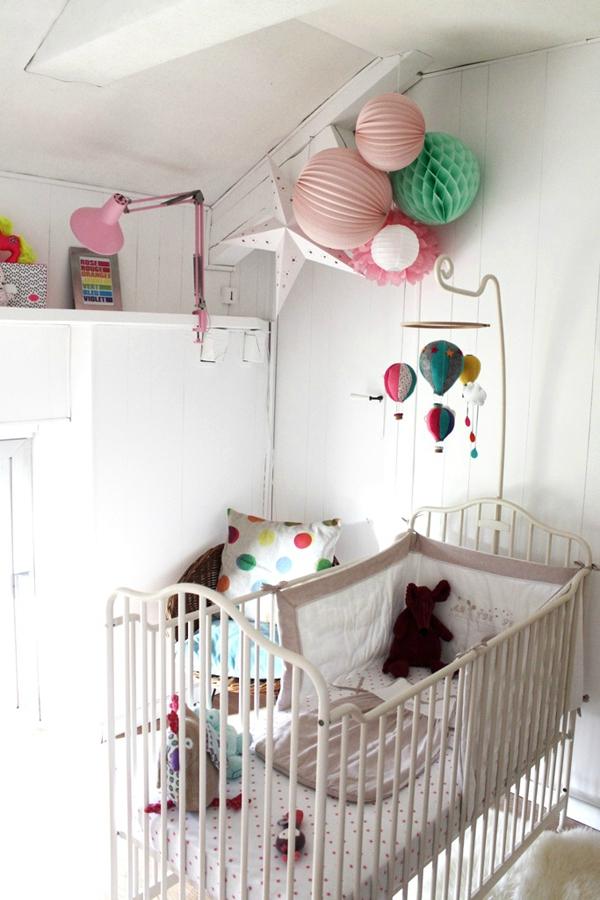 Chambre bebe fille vintage - Famille et bébé