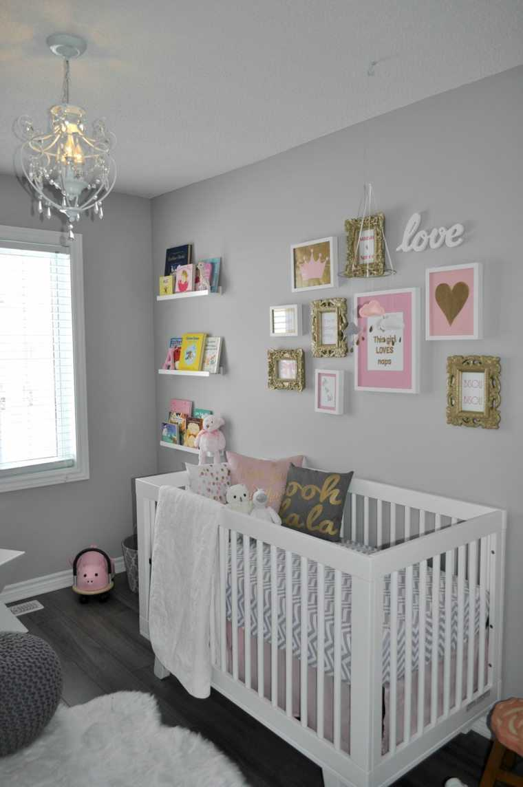 Awesome Chambre Bebe Gris Rose Blanc Ideas - Design Trends 2017 ...