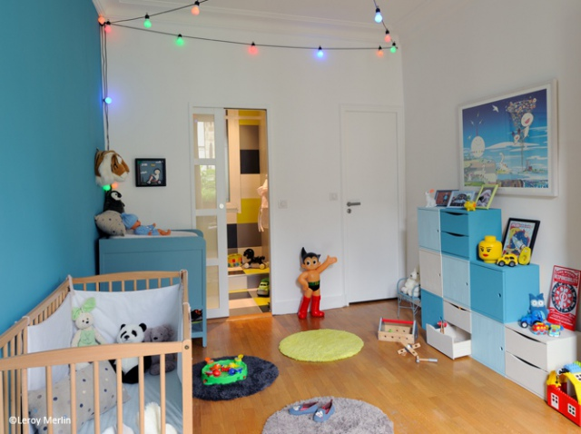 Chambre bébé 12m2