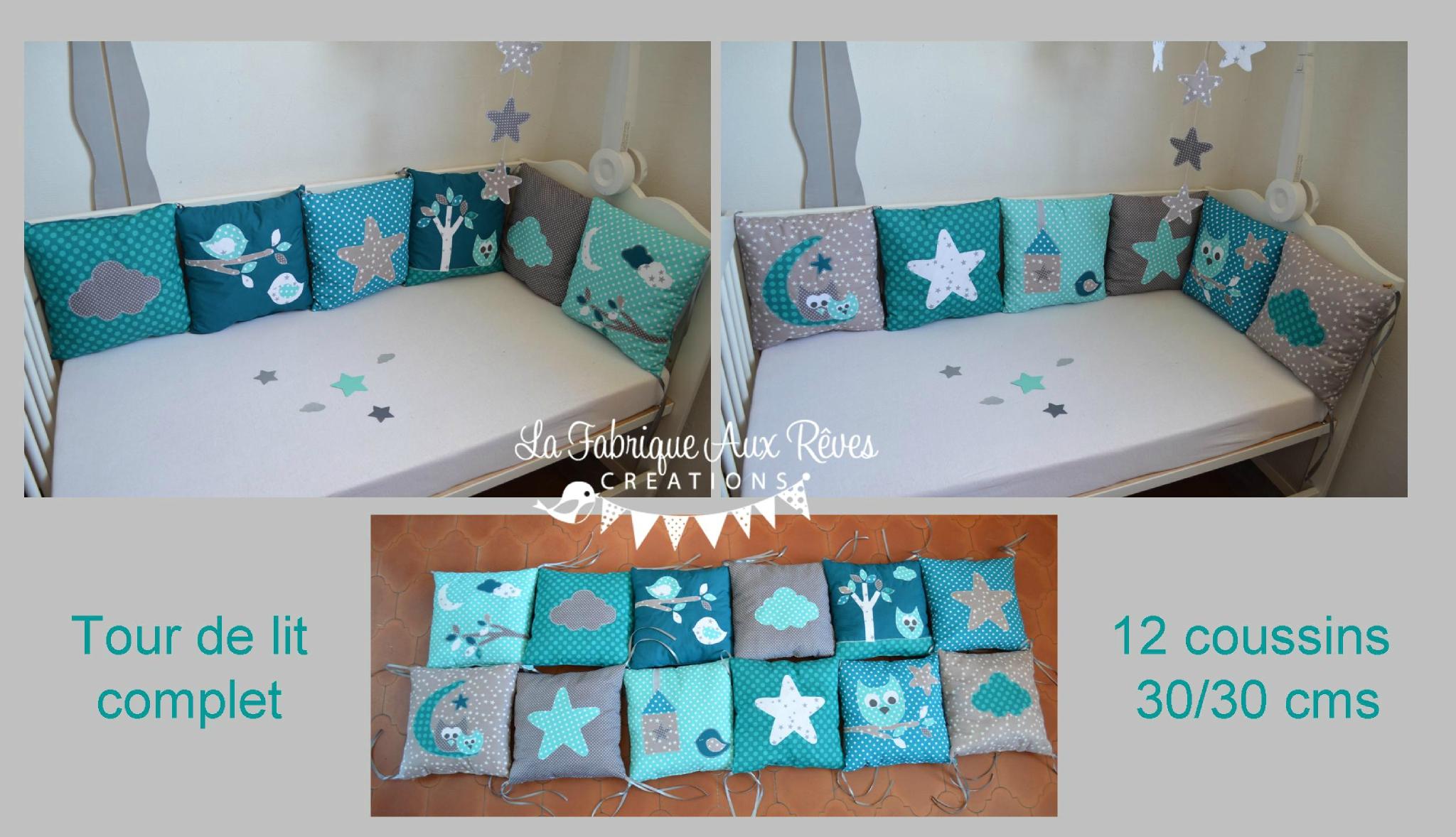 Deco chambre bebe garcon turquoise - Famille et bébé