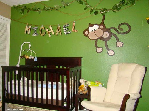 Incroyable Idee Deco Chambre Bebe Theme Jungle
