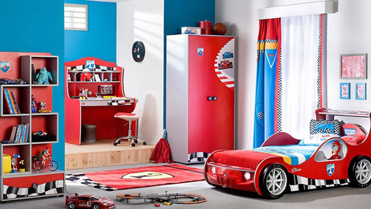 Beautiful Chambre Petit Garcon Voiture Ideas - Design Trends 2017 ...