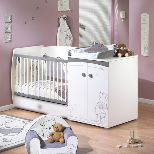 Chambre bebe winnie l\'ourson mixte - Famille et bébé