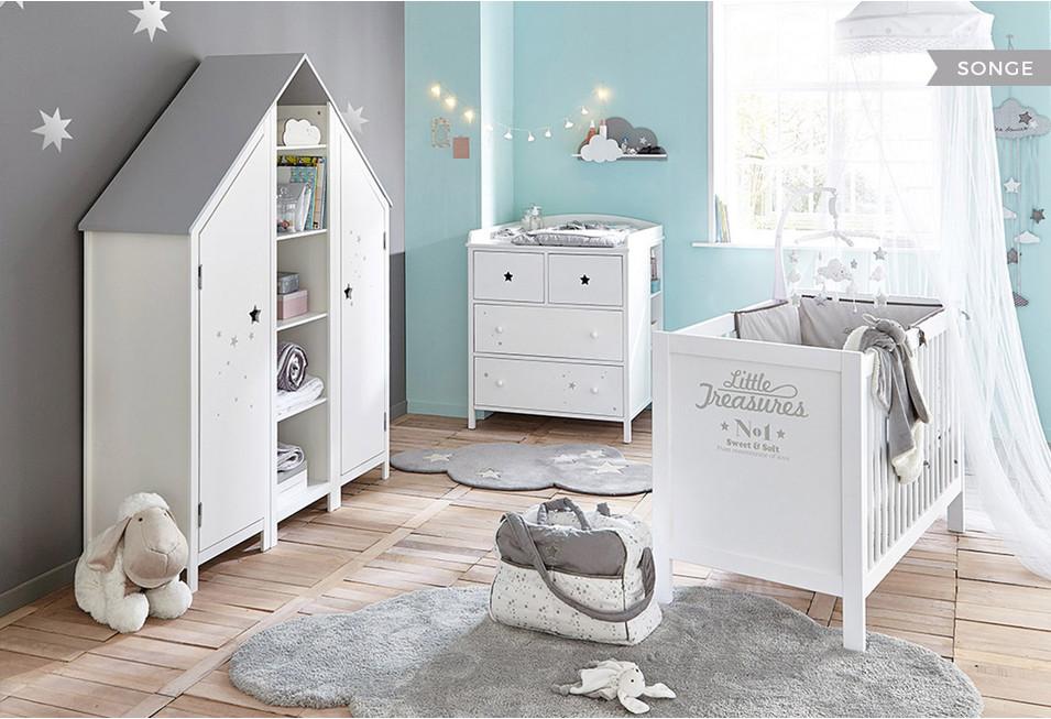 Lit bebe pastel maison du monde - Famille et bébé