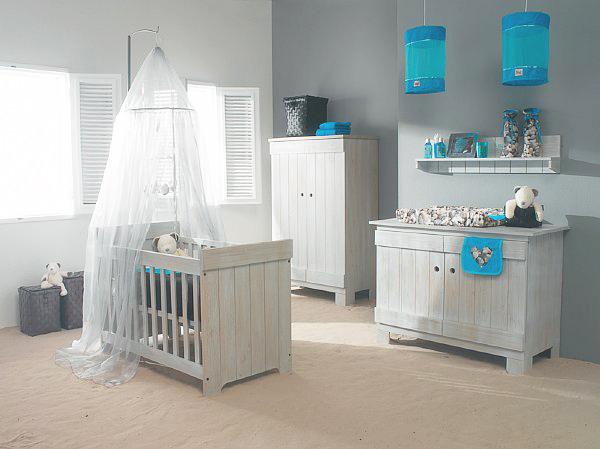 Ambiance chambre bébé garçon