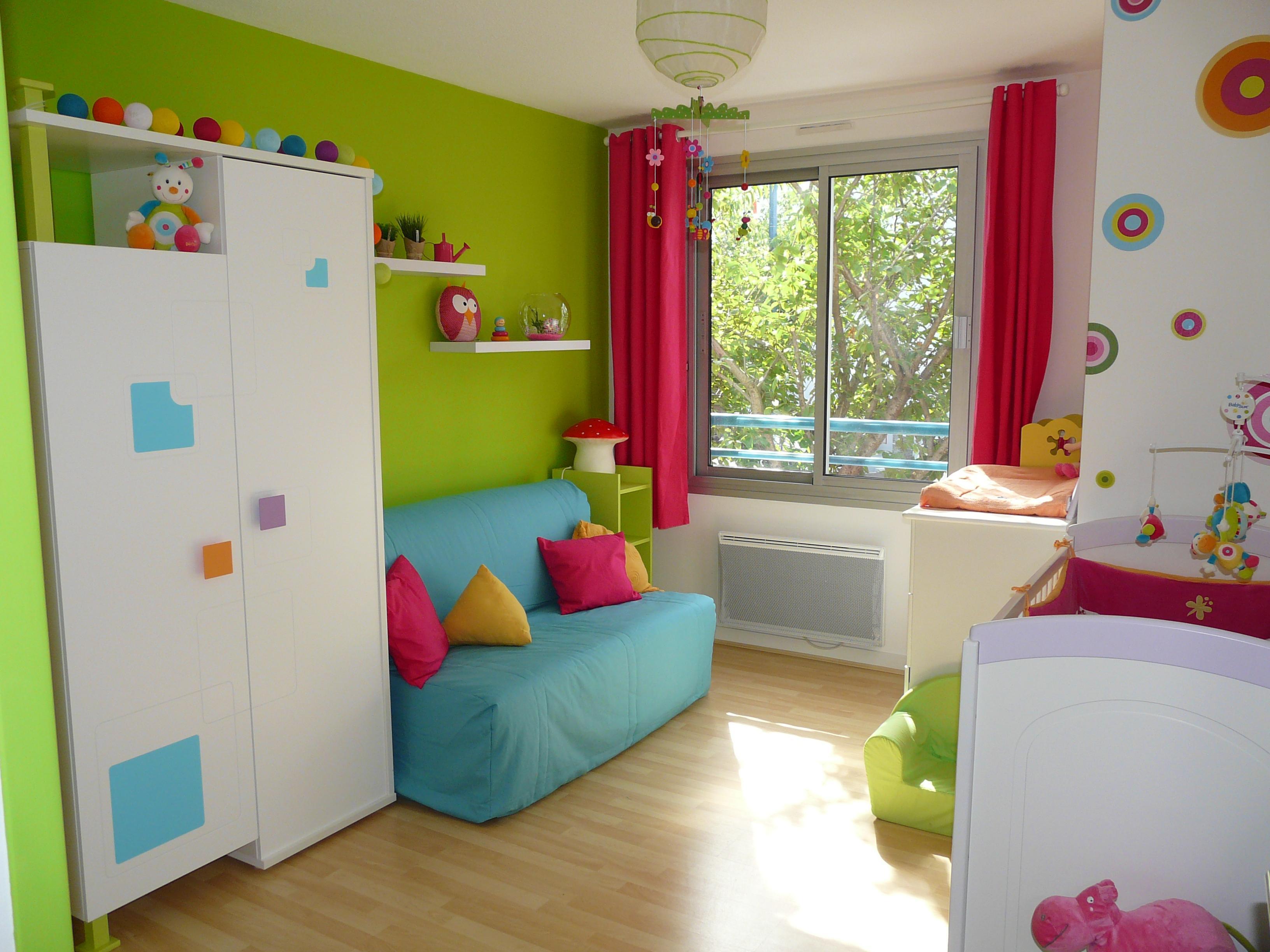 Chambre bebe enfant - Famille et bébé