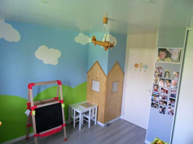 chambre b b gar on 2 ans famille et b b. Black Bedroom Furniture Sets. Home Design Ideas