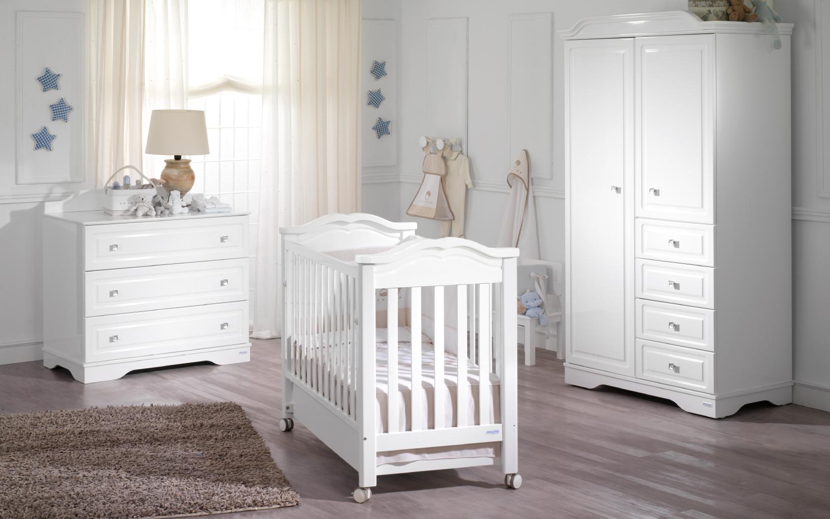 Chambre blanche bebe 9 - Famille et bébé