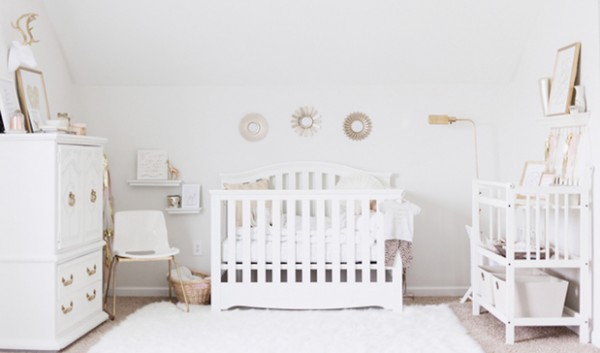 Awesome Chambre Bebe Fille Blanche Gallery - Design Trends 2017 ...
