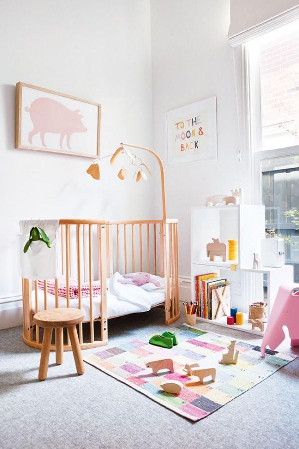 Chambre bebe fille blanche - Famille et bébé