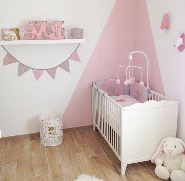 Charmant Deco Chambre Bebe Fille Rose Pale