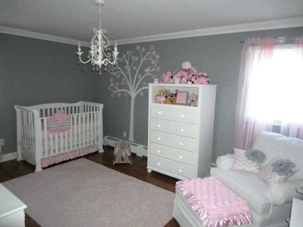 Chambre Bebe Rose Blanc Famille Et Bébé