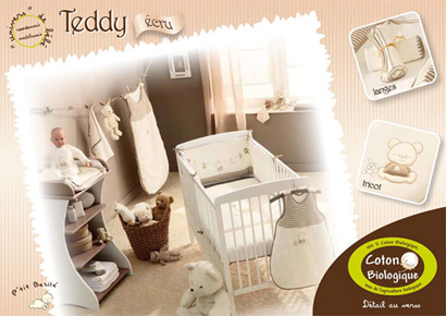 Chambre bébé déco ourson - Famille et bébé