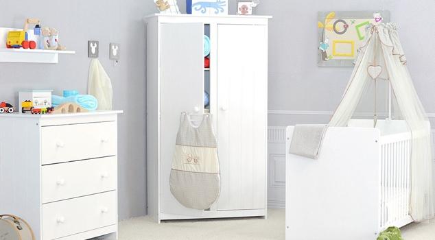 chambre bebe blanc pas cher - famille et bébé