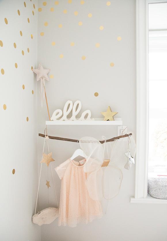 Chambre bebe rose poudré et gris - Famille et bébé