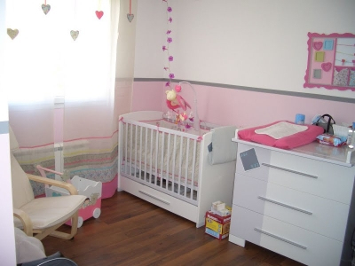 Chambre bebe rose - Famille et bébé