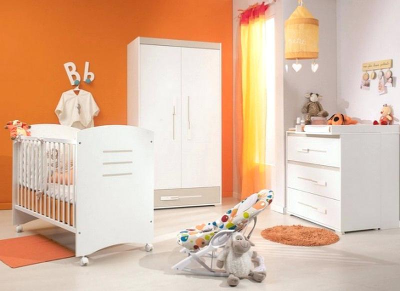 Deco Chambre Bebe Orange