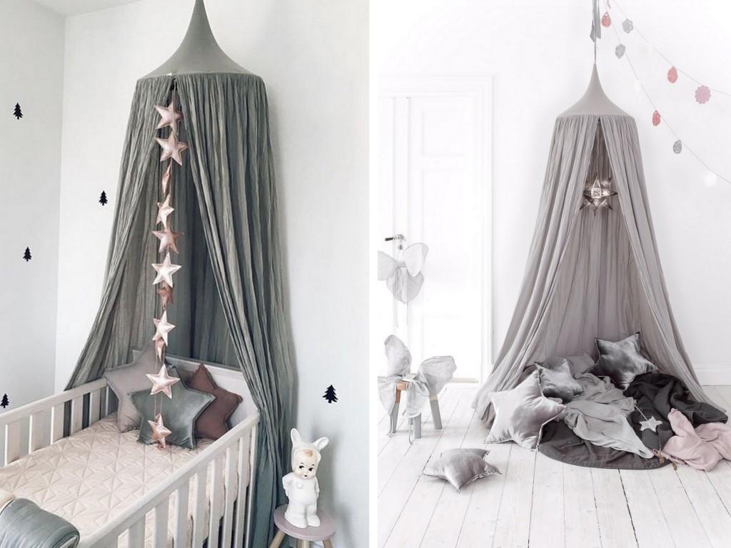 chambre bebe avec ciel de lit famille et b b. Black Bedroom Furniture Sets. Home Design Ideas