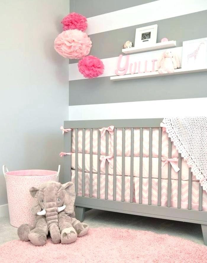 Chambre Bebe Fille Mur Blanc Idées De Tricot Gratuit