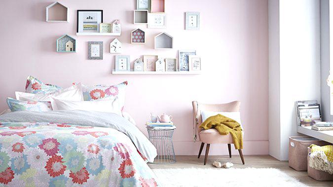 chambre b233b233 rose et beige famille et b233b233
