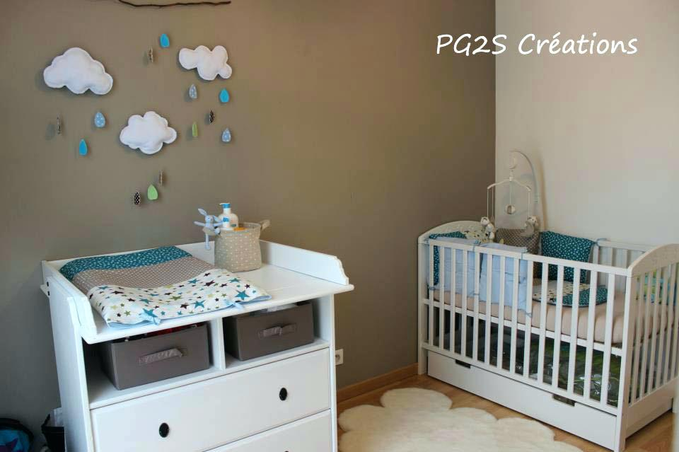 Deco chambre bebe gris taupe - Famille et bébé