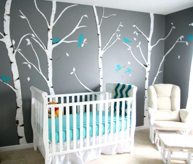 Chambre Bebe Deco Turquoise