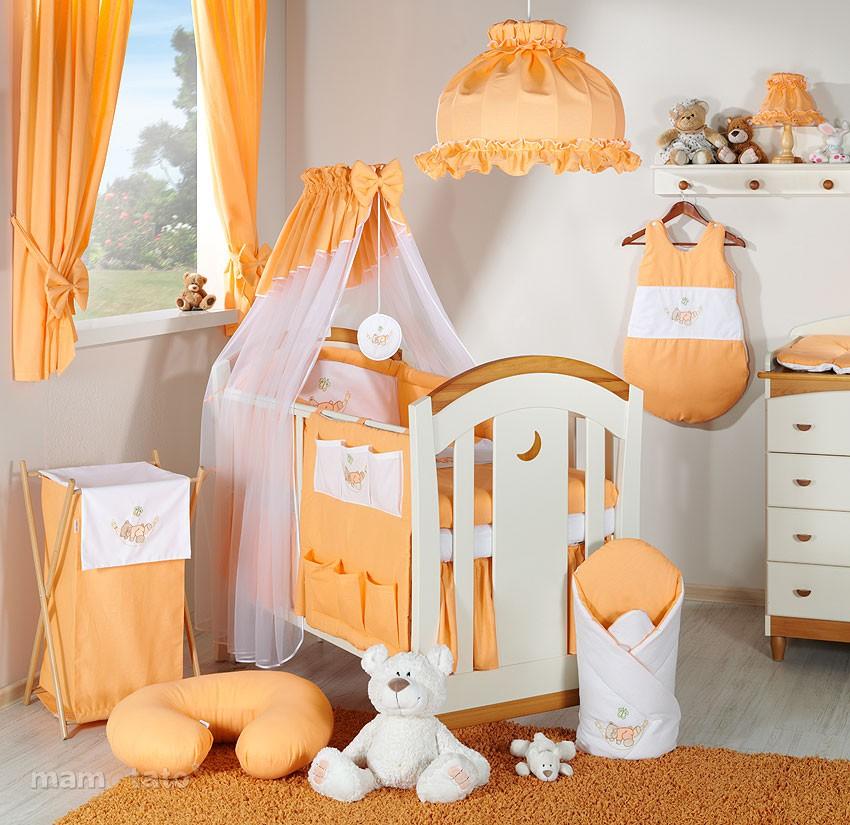 Décoration chambre bébé orange - Idées de tricot gratuit