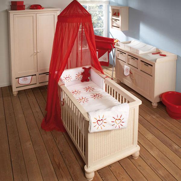 Charmant Deco Chambre Bebe Rouge Et Beige