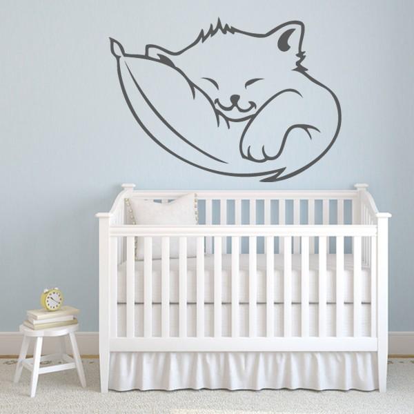 Chambre bébé chat
