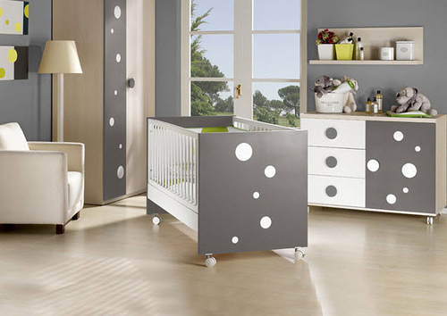 Chambre bebe mixte decoration