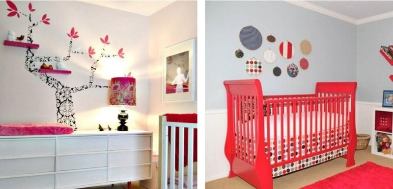 Decoration murale bebe fille - Famille et bébé