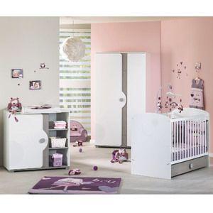 Thème chambre bébé fille aubert