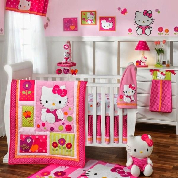 Attrayant Chambre Bébé Fille Hello Kitty