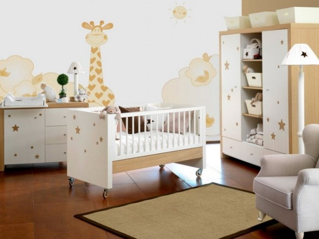 chambre de bebe idee deco