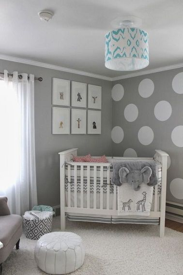 Best Chambre Grise Et Blanche Bebe Pictures - Design Trends 2017 ...