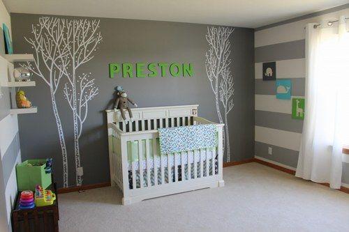 Idée chambre bébé garcon