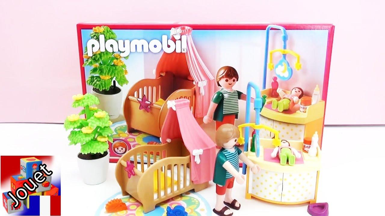 Chambre bébé 4286 playmobil