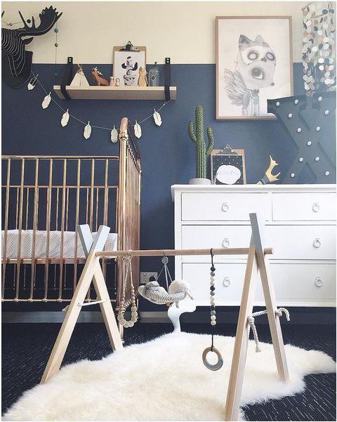 Awesome Bleu Chambre Bebe Idees - Idées décoration intérieure ...