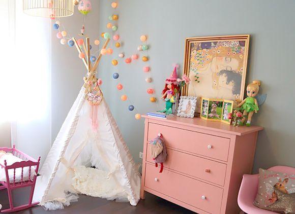 Décoration chambre bébé fille vintage - Famille et bébé