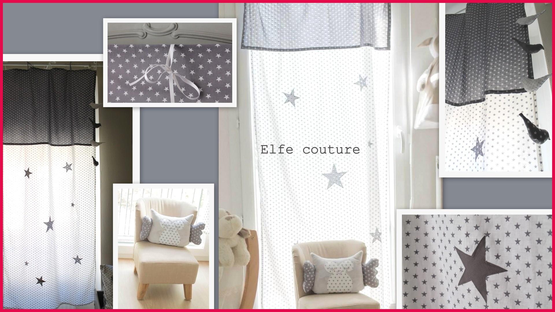 deco chambre bebe rideaux